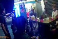 影/新莊員警怒勸不得群聚 酒客不爽差點吵了起來