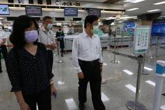 松山等5機場篩檢站啟用 交通部:大致順暢