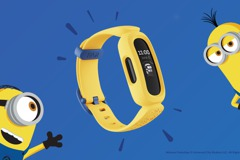 兒童智慧手環Fitbit Ace 3小小兵特別版 動畫表面超萌
