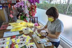汐止議員宅在服務處 做口罩防疫貼送志工
