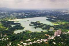 嘉義累積雨量全國前兩名 仁義潭水位大漲網友均感振奮