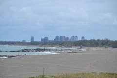 期待疫情快解封! 台南黃金海岸沙灘美景重現