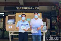 協助竹縣資源回收個體戶抗疫 在地企業捐防疫物資