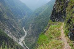 期待微解封 逾萬人申請13日後入太魯閣登山、爬古道