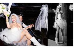 穿性感網襪、水晶短靴結婚的女孩!關史蒂芬妮嫁「全球最性感的男人」 頭紗藏幸福洋蔥