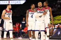 敦奧交手曾大勝83分 美國今熱身賽爆冷不敵奈及利亞