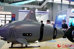 大陸國產「機器鯊魚」北京亮相 具偵察及反潛作戰能力