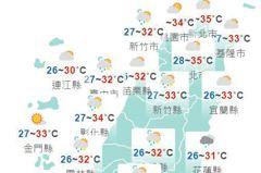 午後雷陣雨 彭啟明:周日起環境有利颱風發展