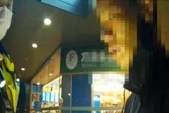影/微解封高雄男路邊拉下口罩抽菸 遇警露毒品吃官司