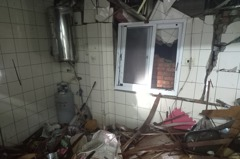 台南市東區民宅氣爆 1人灼傷送醫插管急救