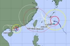 日本氣象廳預測 烟花颱風23日恐穿越北台灣