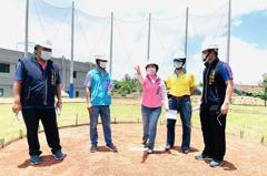 台中潭子簡易棒壘球場經5年爭取 今年8月底前將完工