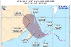 大陸氣象專家解析河南暴雨成因:和烟花颱風有關