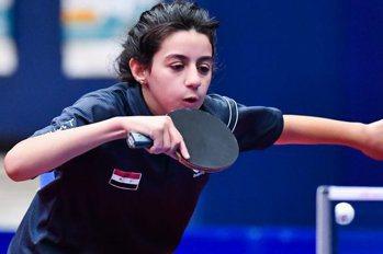 桌球/史上最年輕選手 12歲女將為敘利亞披戰袍