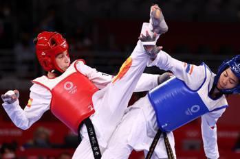西班牙少女看成龍電影轉學跆拳道 淘汰中國兩金得主奪銀