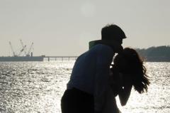 「愛情回來了」趕在三級解封前 情侶出來透氣拍照