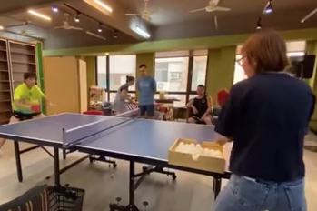 桌球/鄭怡靜教練超狂背景曝 餵球速度快到網傻眼