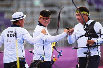 射箭/南韓奧運霸業增至27金 中華隊無法突破障礙