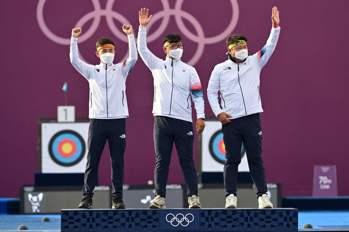 射箭/韓國男子射箭團體賽2連霸 目標拿下所有金牌