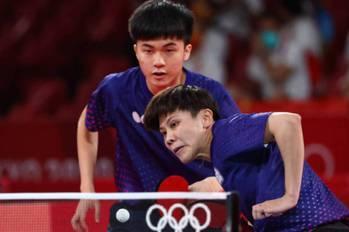 林昀儒年僅19歲桌球混雙奧運奪銅 家人:開心為國爭光