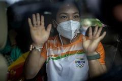 印度舉重女將東奧摘銀 享終生免費披薩電影票