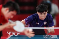 桌球/林昀儒4強戰「越級打怪」 一張圖曝對手全是球王等級