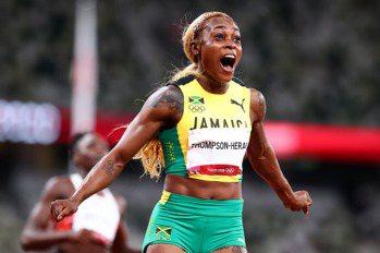 田徑/女子百米牙買加湯普森衛冕成功 創奧運紀錄