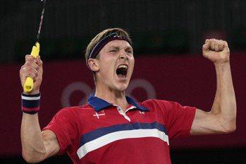 羽球/丹麥安賽龍打進男單決賽 將對決中國諶龍