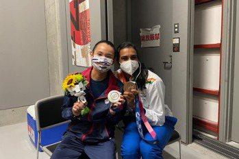 東京奧運/戴資穎失落奪奧運銀牌   印度一姐辛度這一動作 讓世界球后當場爆哭