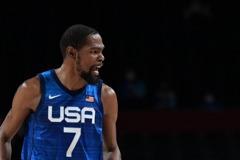 籃球/美國下半場發威挫西班牙 杜蘭特:我們屬於這舞台