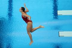 跳水/失足上演悲慘0分 加拿大女將:硬來有受傷風險