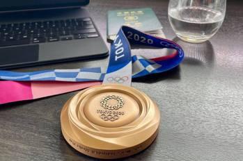 高球/潘政琮續戰美巡賽 臉書秀東奧銅牌和台灣護照