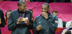 美國男籃金牌4連霸 詹姆斯發推特祝賀