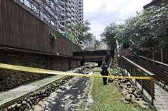 新店公安意外 26歲工人從12樓鷹架掉到瑠公圳內亡
