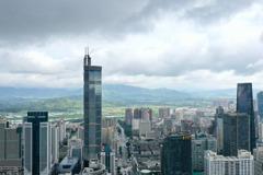 15個副省級城市 上半年GDP深圳第一