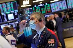 通膨疑慮加深 美股道瓊指數早盤跌近0.3%