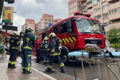 南港舊公寓洗衣機冒煙 火源無延燒無傷亡