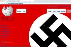「納粹標誌」惡搞5萬多個維基百科頁面 包含拜登、瑪丹娜等大咖