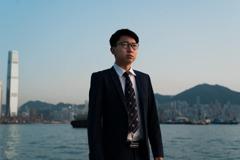 港組織發言人張崑陽宣布正在美國 已申請政治庇護