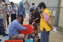立委台南學甲爐碴案再次現勘 環保局回應了
