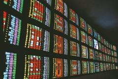 台股收跌154點跌破季線 三大法人賣超34.18億