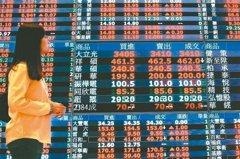 台股量縮收漲33.84點 三大法人賣超8.27億