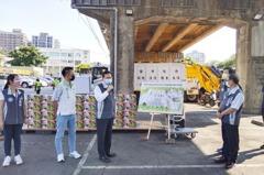 鄭文燦宣布平鎮清潔隊蓋新家 預計明年完工