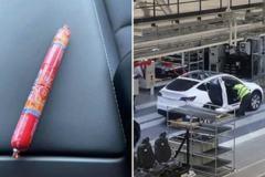 挪威一位特斯拉車主喜迎Model Y 卻在車內發現中國火腿腸!