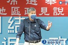 黨主席政見會/讚韓國瑜政治奇才 張亞中:要靠論述贏回高雄