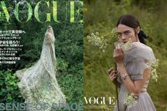 宛如異域國度的公主!「搞怪超模」卡拉迪樂芬妮回歸本行 化身Dior新娘回眸仙氣爆棚