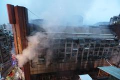 高雄城中城惡火奪命 專家嘆公部門對老舊建物無作為