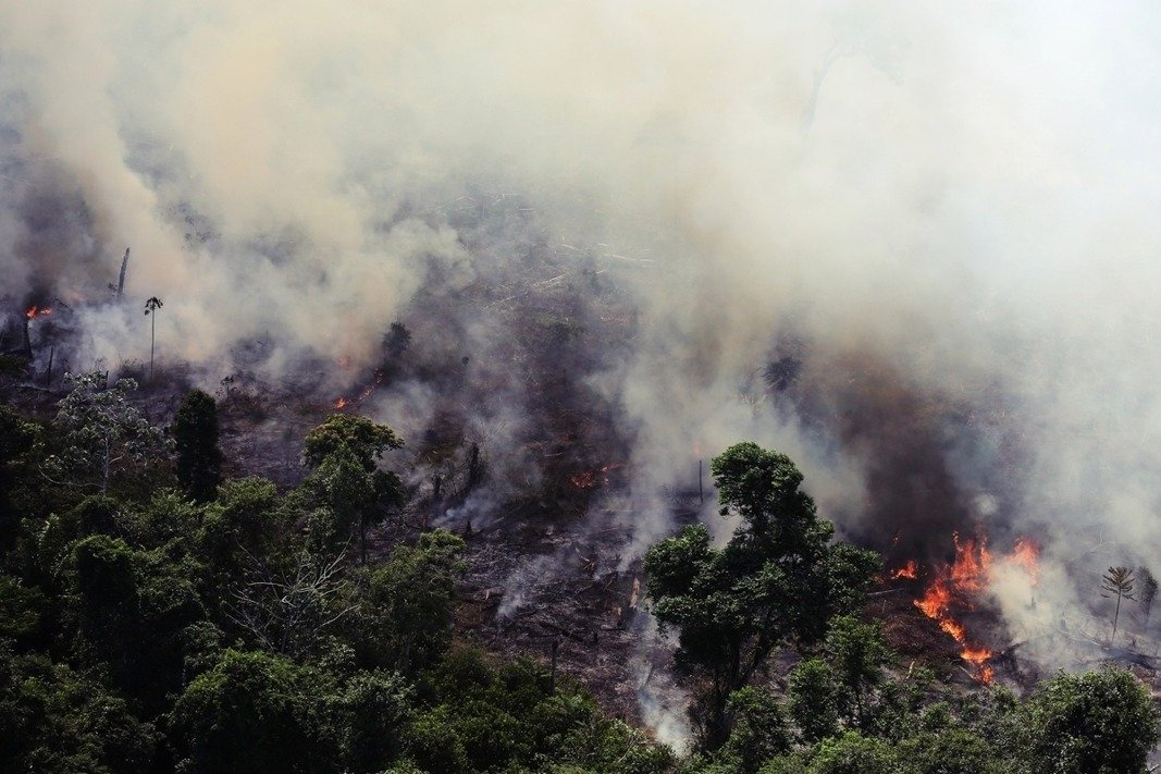 地球之肺燃燒中:巴西「亞馬遜森林大火」頻繁破紀錄