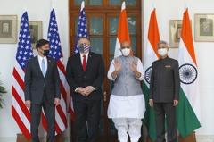 美國平衡南亞勢力 「分享衛星資料」助印度抗中