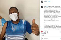 接種科興疫苗 巴西「球王」比利比讚、稱「難忘」